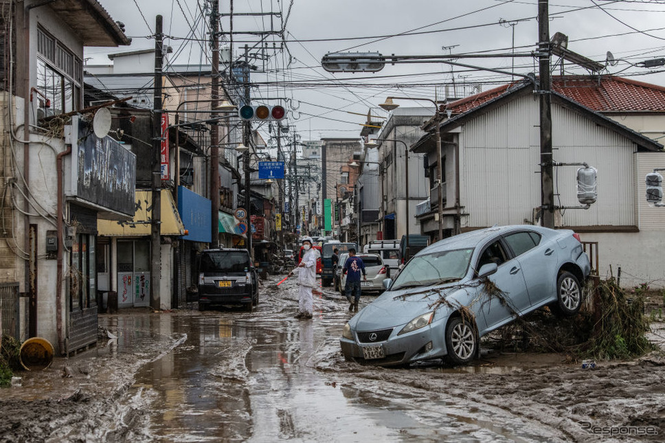 熊本豪雨(7月5日、熊本県人吉市)
