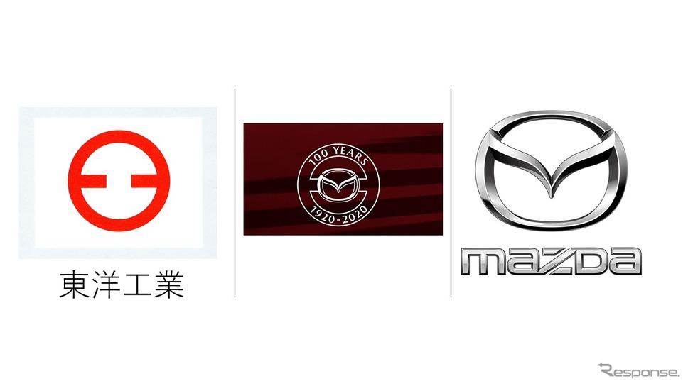 マツダ100周年記念ロゴの成り立ち