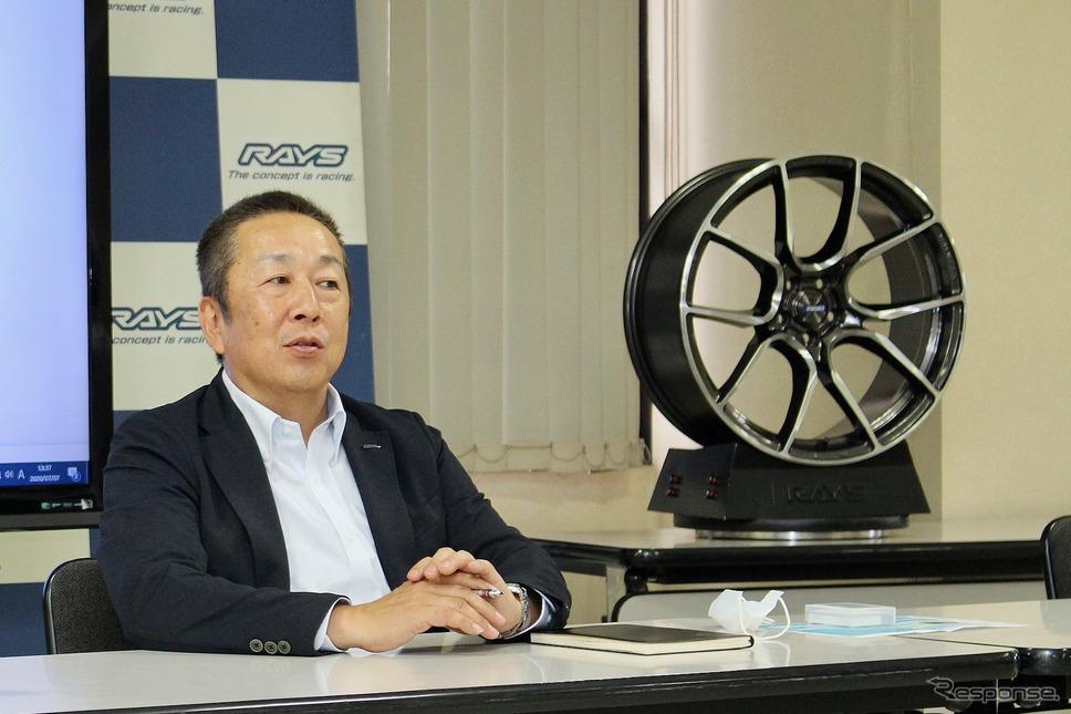 代表取締役社長 三根茂留氏