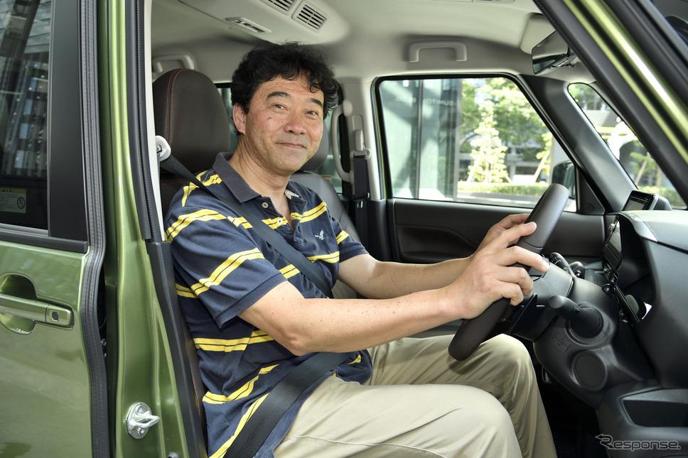 「高速道で走っていても普通に会話ができるのが驚き」と話していた森田さん
