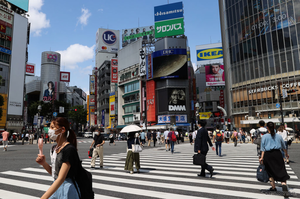 横断歩道を渡る人たち(参考画像)Photo by Takashi Aoyama/Getty Images News/ゲッティイメージズ