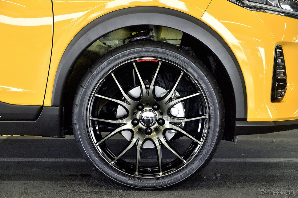 HOMURA 2X7Plus 推奨サイズ:19×7.5JInset45 5H-114.3/カラー:ブラッククリアー(限定モデル/BBP)/タイヤサイズ:225/40R19