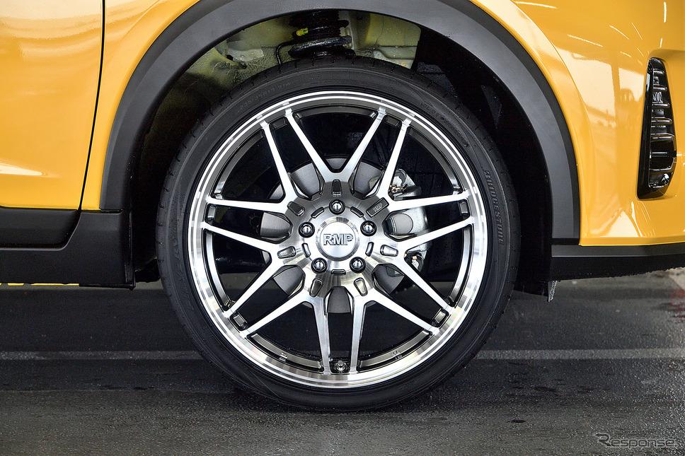 RMP 720F 推奨サイズ:19×8.0JInset42 5H-114.3/カラー:ハイパーメタルコート/ポリッシュ/タイヤサイズ:225/35R19