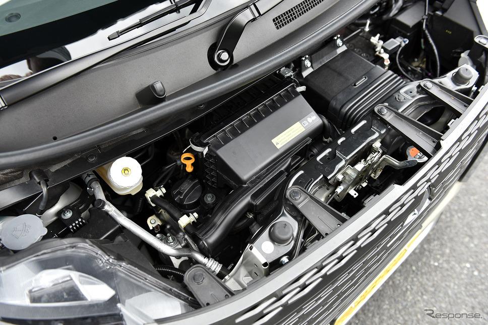 ターボエンジン(写真は三菱 eKクロススペース)