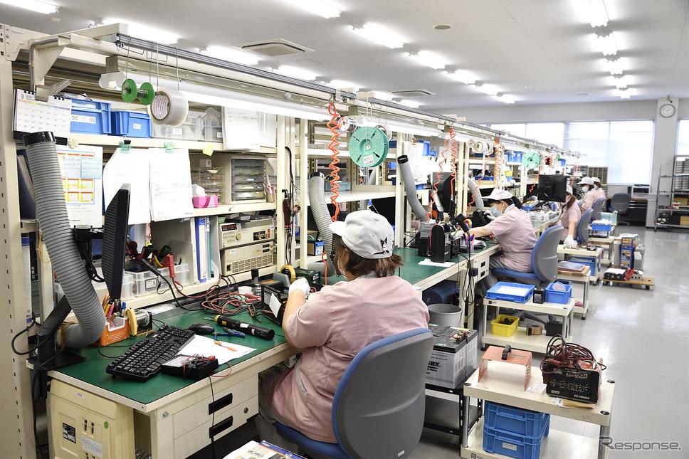アフターサービス部門では保証期間が切れた製品でも可能な限り修理を行っている