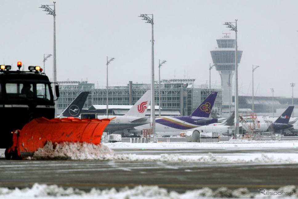 ミュンヘン空港(2019年1月10日)