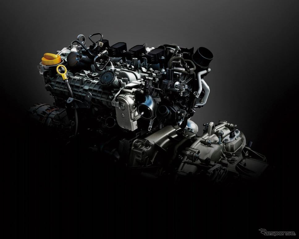 ルノー・ルーテシア新型、1.3L直噴ターボエンジン