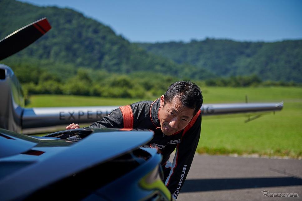 エアロバティック・パイロットの室屋義秀選手