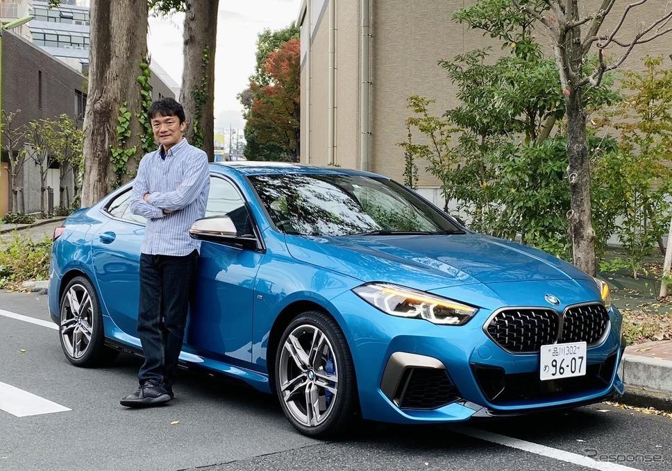 BMW M235i xDrive グランクーペと岡本幸一郎氏