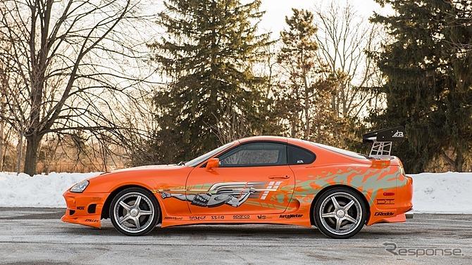 『ワイルド・スピード』でポール・ウォーカーが駆った トヨタ スープラ