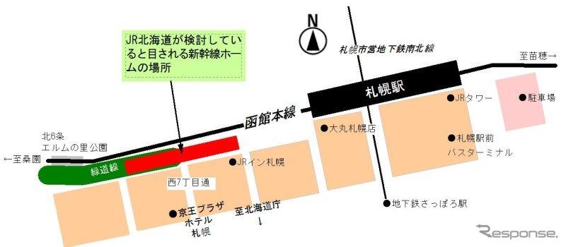【遅れた大地】北海道新幹線 札幌駅にホーム作れない?【劣等都市】 [無断転載禁止]©2ch.netYouTube動画>2本 ->画像>103枚
